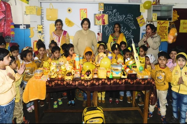 Kali Ram Dav Public School-Yellow Day Celebrations