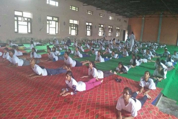 Kali Ram Dav Public School-Yoga