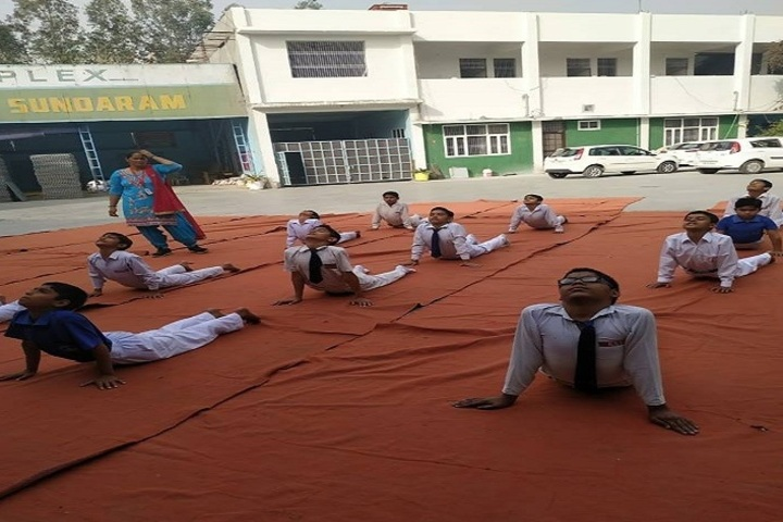 Kalpana Chawla Vidyapeeth-Yoga
