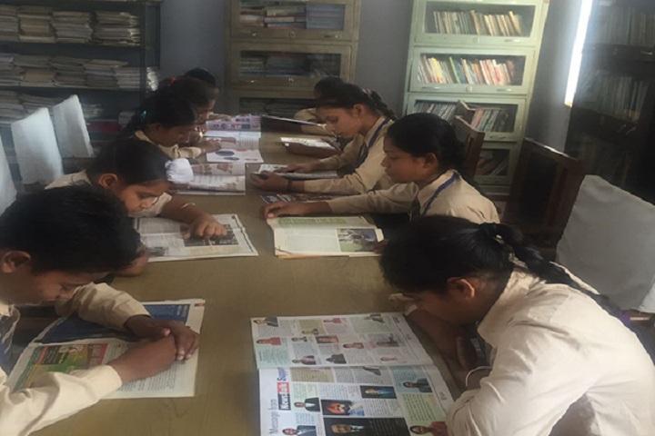 Kamla Montessori School-Library