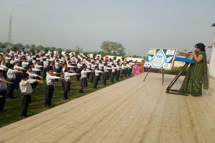 Katar Singh Memorial Public School-Morning Assembly
