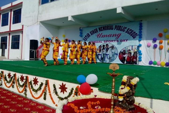 Katar Singh Memorial Public School-Sports day