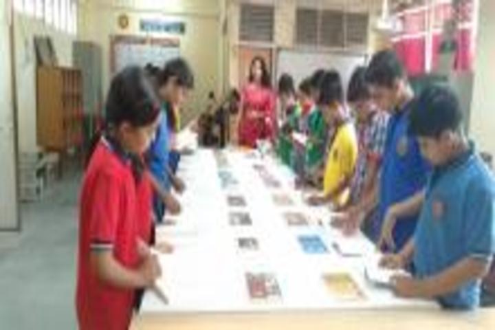 Kendriya Vidyalaya-Books Exhibition