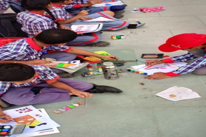 Kendriya Vidyalaya-Painting Competition
