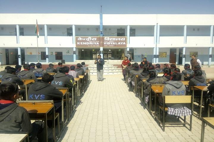 Kendriya Vidyalaya-Students Meeting