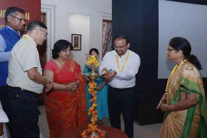 Kendriya Vidyalaya No 2-Lighting The Lamp