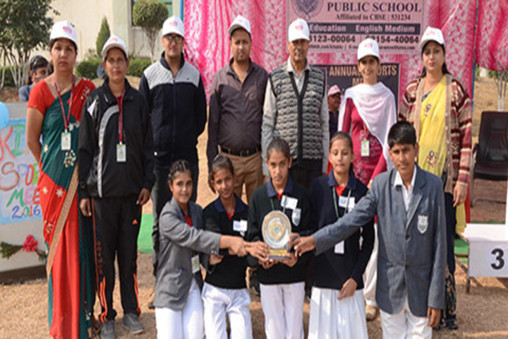 Kite International Public School-Award