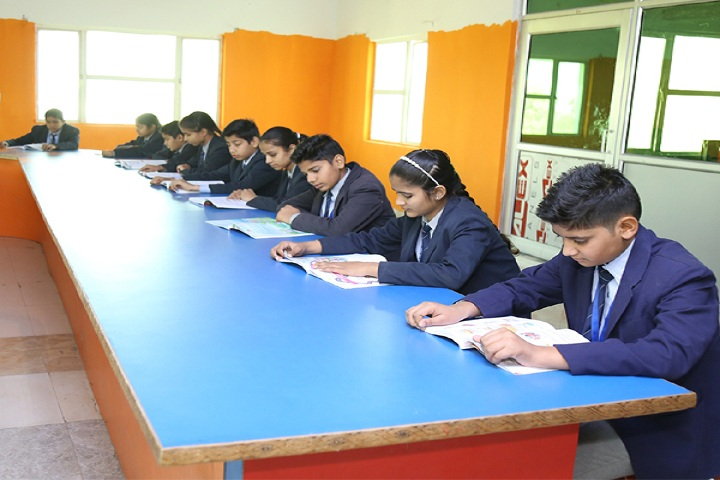 Koyal Public Senior Secondary School-Library