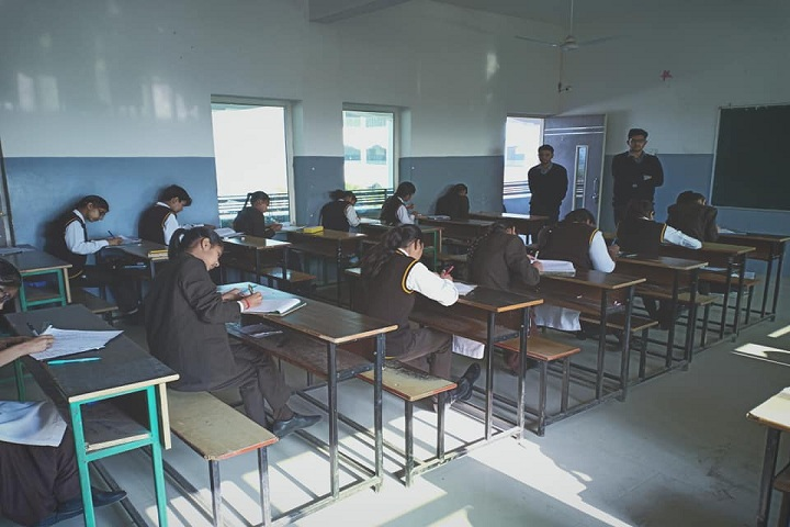 Kvm Global School-Exam Hall
