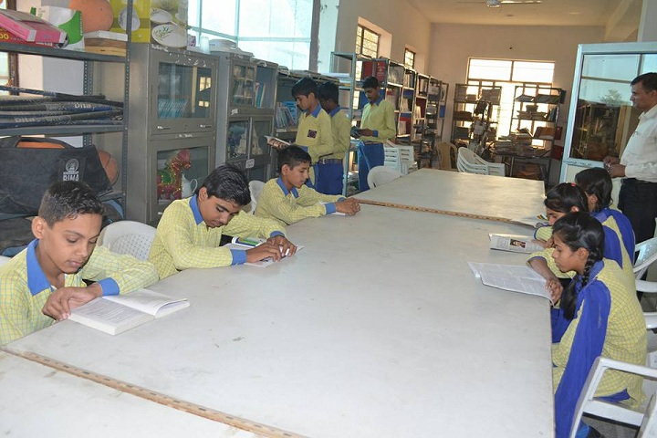 Laxmi Senior Secondary School-Library