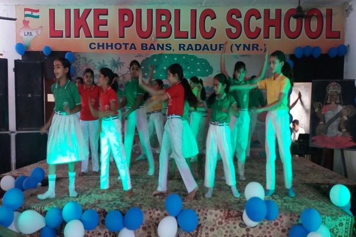 Like Senior Secondary Public School-Dance