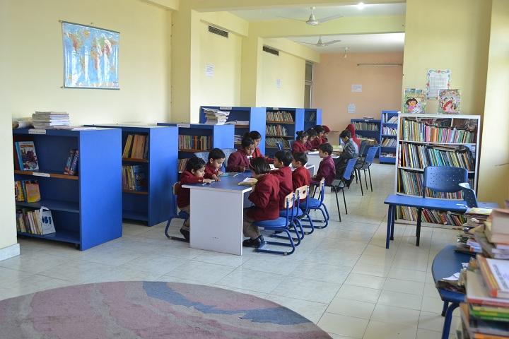 Lingayas Public School-Library
