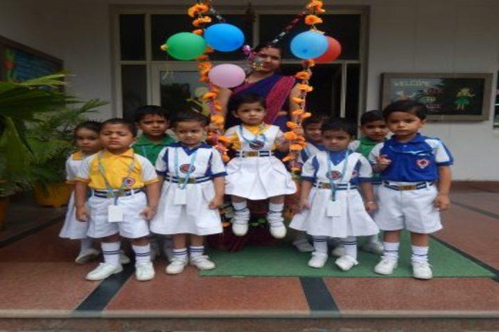 Lttm Public School-Teej Celebration