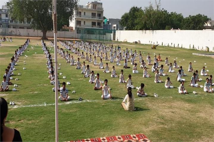 M M Public Senior Secondary School Playground