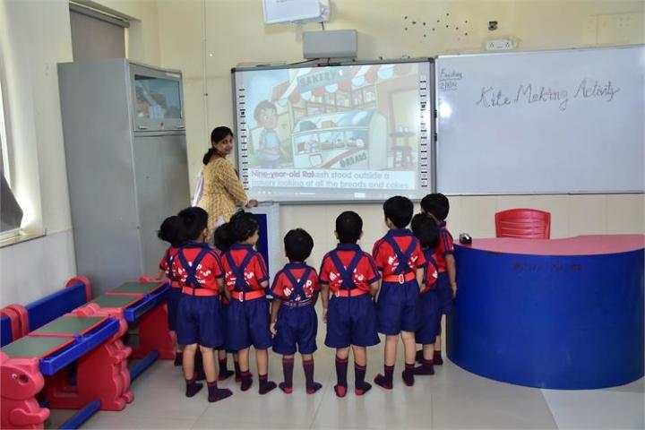 M M Public Senior Secondary School Room
