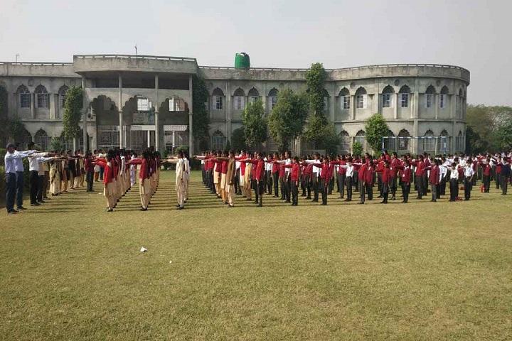 M D Senior Secondary School-Morning Assembly