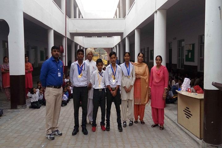 M D Senior Secondary School-Sports Champions