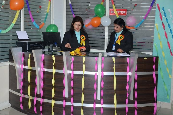 MDVM Public School-Reception