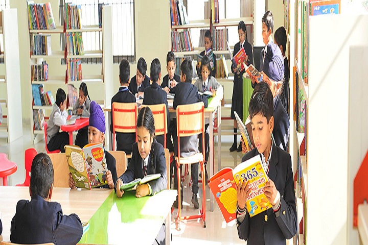 Maharishi Markandeshwar International School-Library