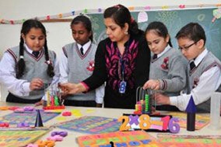 Maharishi Markandeshwar International School-Maths Lab
