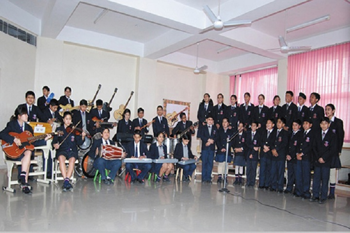 Maharishi Markandeshwar International School-Music Room
