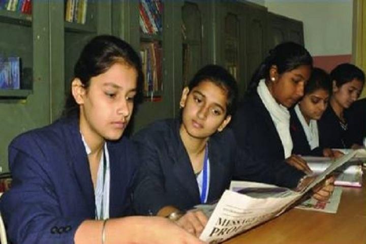 Maharaja Aggarsain Girls Senior Secondary School-Library