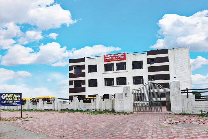 Maharaja Aggarsain Senior Public School-Campus