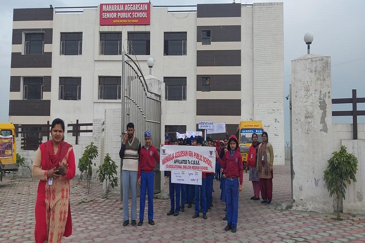 Maharaja Aggarsain Senior Public School-Entrance