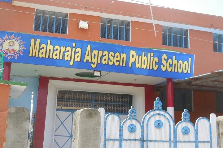 Maharaja Agrasen Public School-Campus