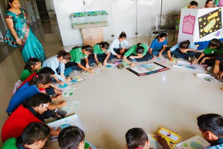 Maharishi Dayanand Convent School and Sports Academy-Art-Room