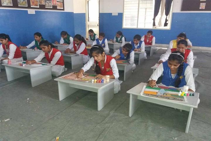 Maharishi Meinhien Public School-Art-Room
