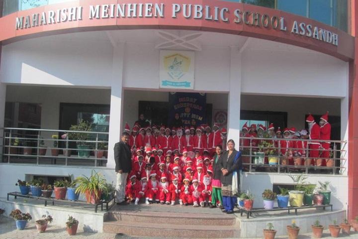 Maharishi Meinhien Public School-Entrance