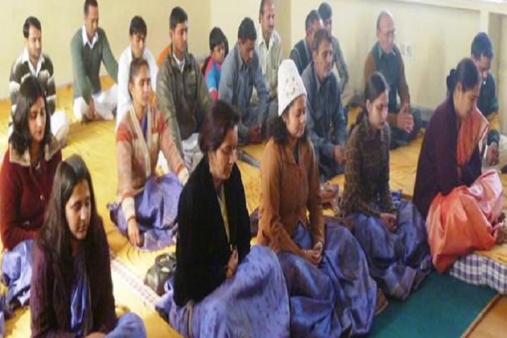 Maharishi Vidya Mandir Senior Secondary School-Meditation Room