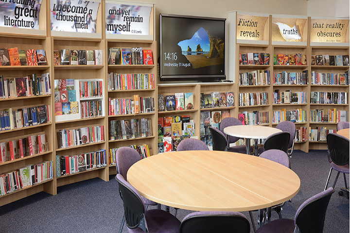 Mahendra Model School-Library