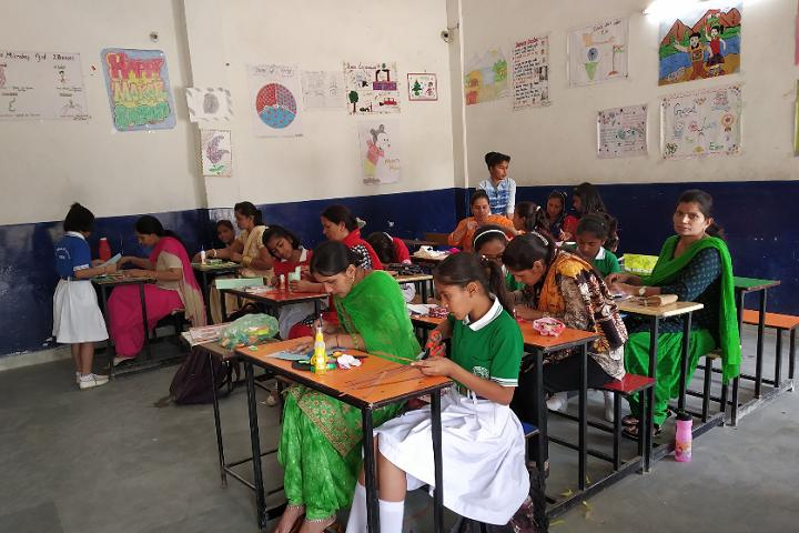 Mahendra Model School-Mothers day
