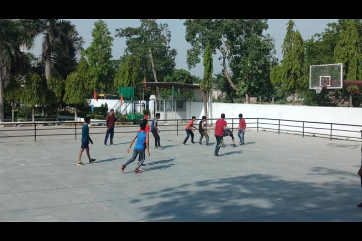 Major R.N Kapoor Dav Public Senior Secondary School- Basket Ball Court
