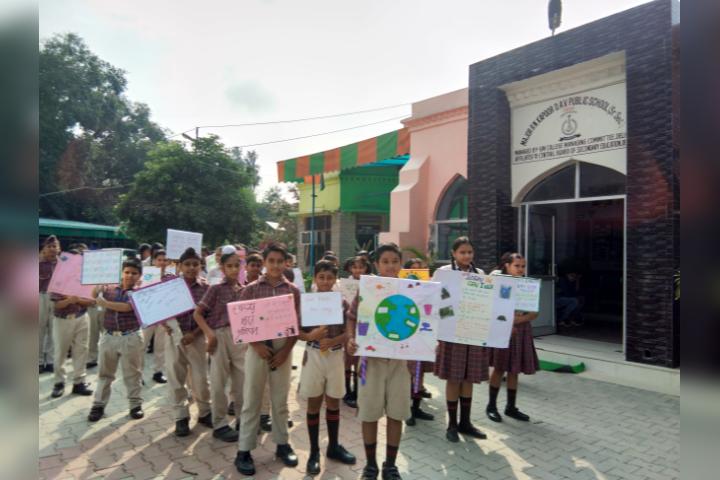 Major R.N Kapoor Dav Public Senior Secondary School- Awareness Programme