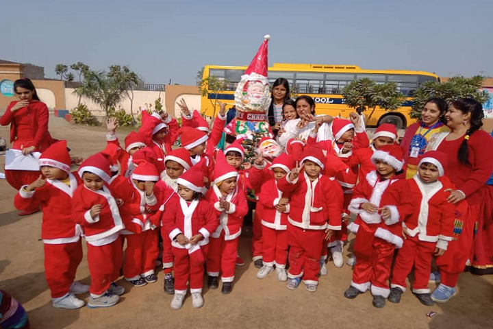 Major Bihari Lal Memorial Senior Secondary School-Christmas Celebration
