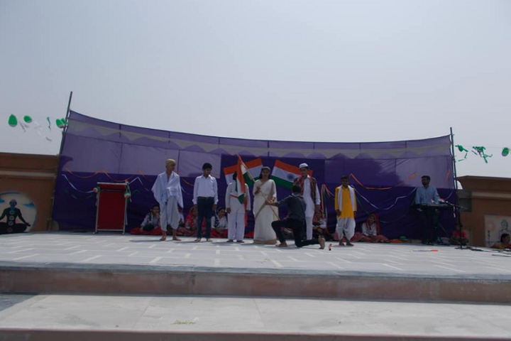 Major Bihari Lal Memorial Senior Secondary School-Independence Day