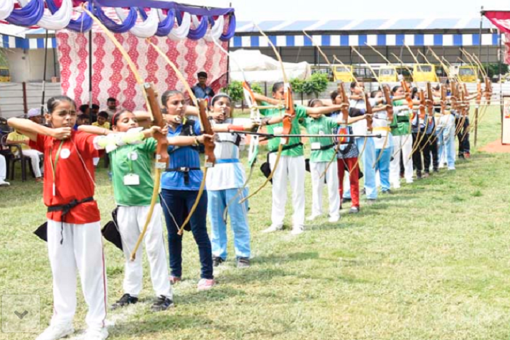 Manish Papneja Memorial Public School-Archery Competition