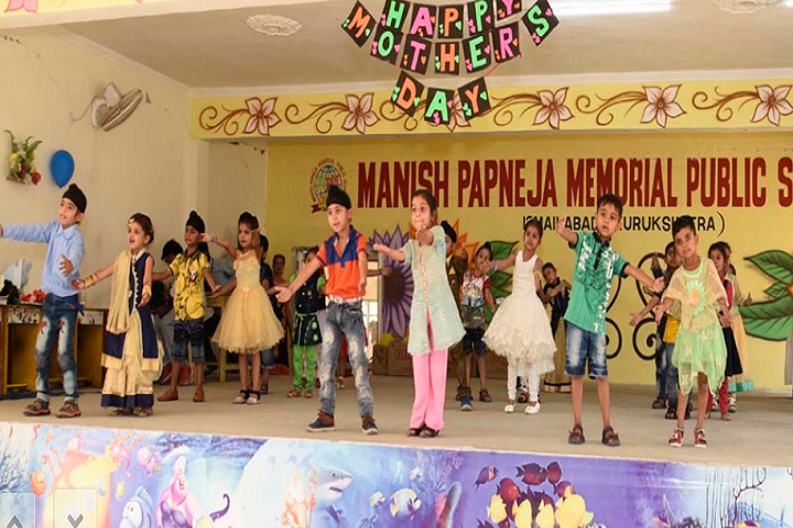 Manish Papneja Memorial Public School-Mothers Day Celebration