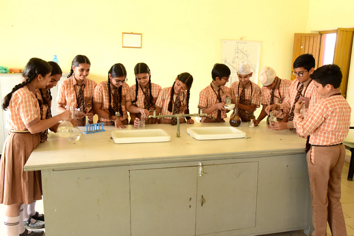 Manish Papneja Memorial Public School-Science Lab