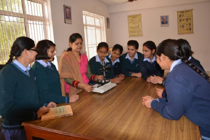 Manohar Lal Saraf Dav Public School-Laboratory