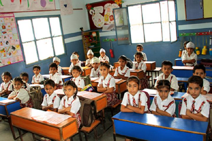 Mata Gujri High School-Classroom