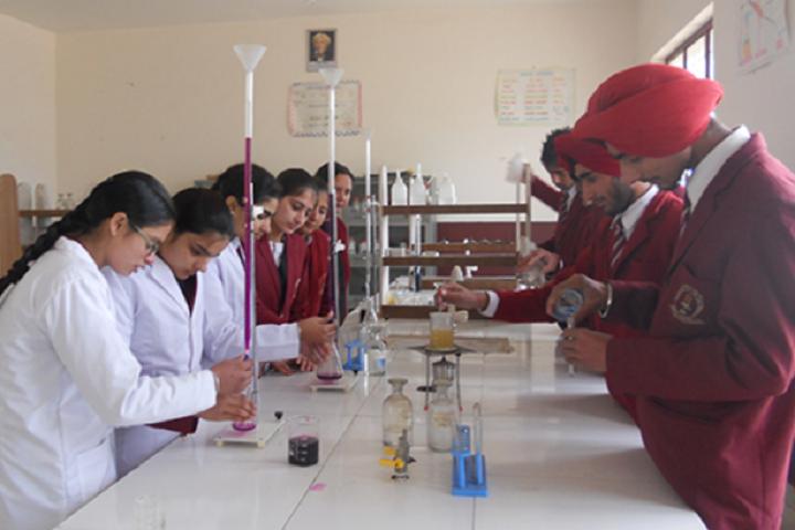 Mata Gujri High School-Lab