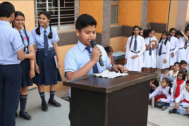 Mata Mariam Jan Seva Vidyalaya-Speech