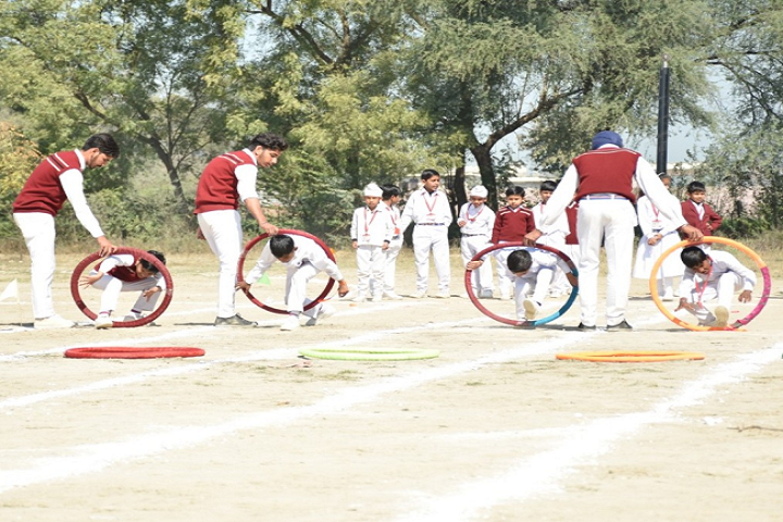 Mata Punna Devi Dav Public School-Games