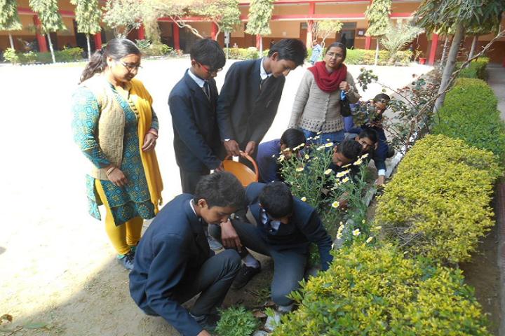Mata Punna Devi Dav Public School-Plantations