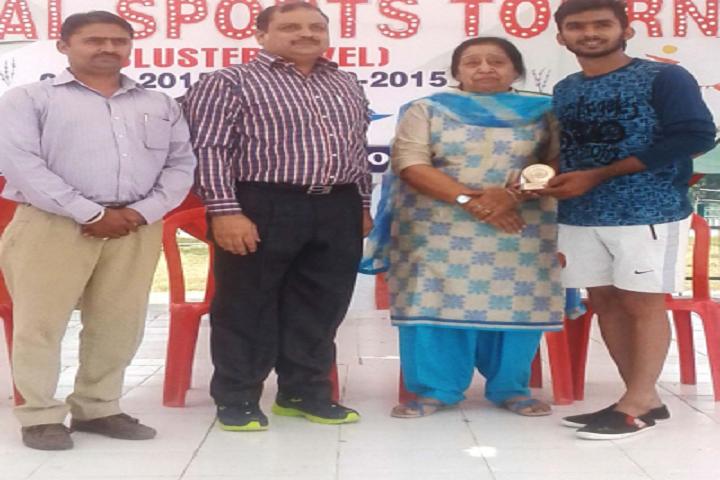 Mata Punna Devi Dav Public School-Prizes