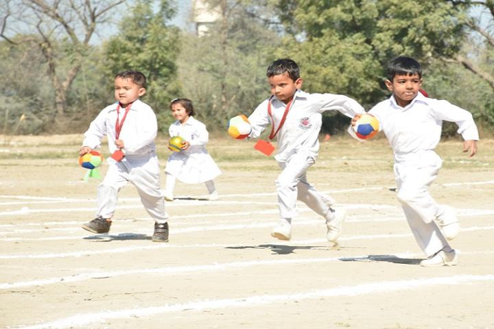 Mata Punna Devi Dav Public School-Running Competition